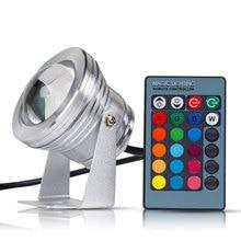 Swiming Pool Light RGB LED Underwater Lamp 10W AC/DC 12V LED Light IP6