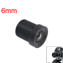6mm 60 Degree Wide Angle Focus Length Fixed Board Lens for CCTV Camera LCC