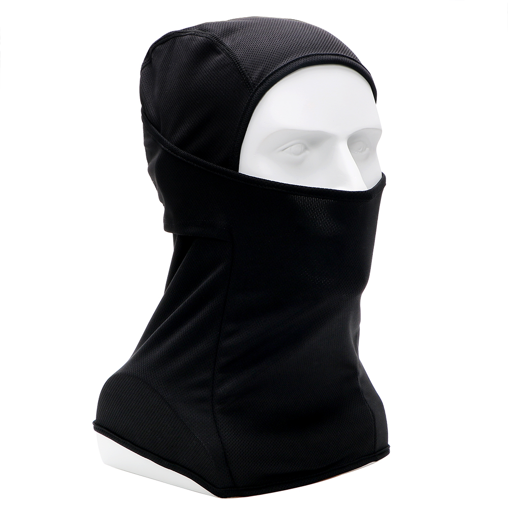 Motorcycle Face Mask Full Face and Neck Thin Soft Breathable Mask for Moto Bicycle Cycling Outdoor Sports Balaclava Hood