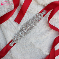 Crystal Belt Sparkly Wedding Bridal Accessories 2018 Event Formal Decorations Bridal Sashes Belt China Cheap ZA019