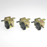 3Pcs New OEM High Quality Vacuum Electromagnetic Valve Solenoid Bora For Vw Jetta Passat B5 A4