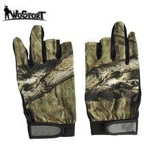 Перчатки для активного отдыха, рыбалки, велоспорта, охоты, кемпинга, перчатки с полупальцами, легкие противоскользящие, 3 пальца и 5 пальцев, перчатки для рыбалки