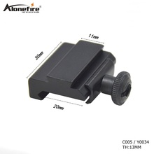 1pc C005 20mm to 11mm Weaver Dovetail Adapter for Picatinny Rail Rifle Scope Mount Hunting 2017 new frie wolf illumination 6x40ir riflescopes rifle scope hunting scope fits for 11mm 20mm rail free shipping
