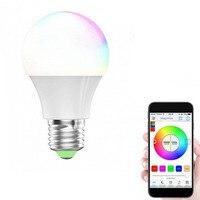 RGBW smart led лампочки Wi-Fi Дистанционное управление Освещение лампа Цвет изменение затемнения светодиодные лампы для Android IOS Телефон Новый