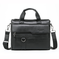 MEIGARDASS Genuine Leather Bags Men's For Handbags Fashion male business briefcase Messenger bag Large Capacity Men Laptop Bag