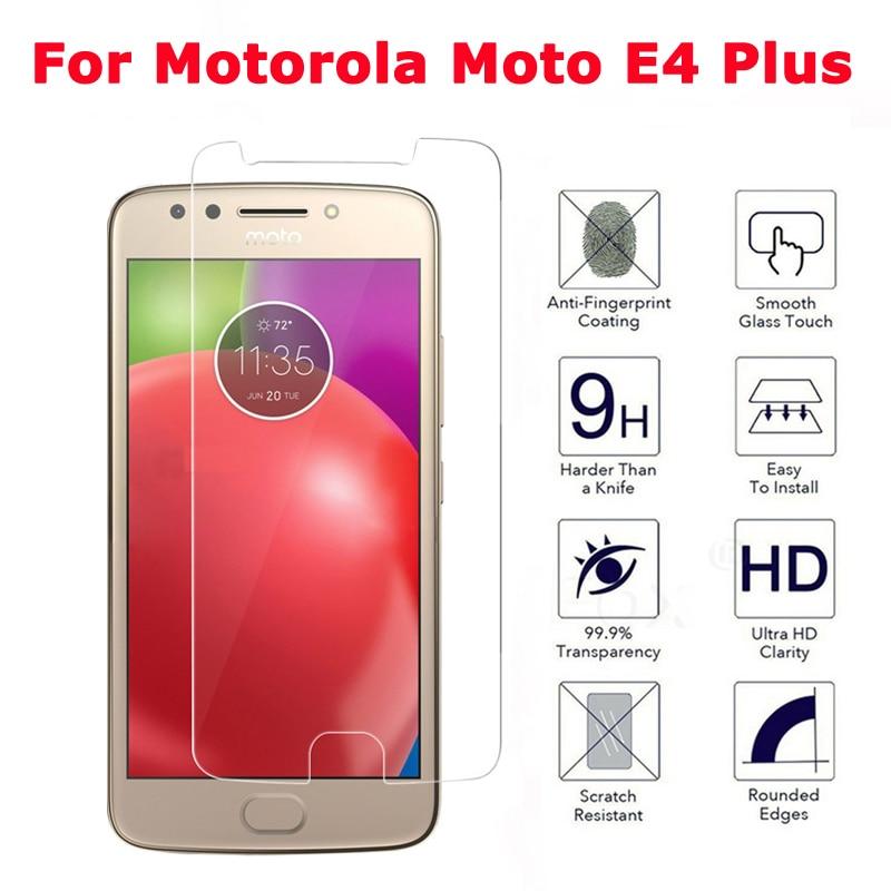 Für Moto E4 Plus Displayschutzfolie Für Motorola Moto E4 + Gehärtetes Glas Für Motorola Moto E4 Plus XT1773 Schutzfolie