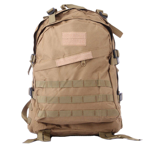 Men's Out door Canvas Backpack Vintage Military Backpacks Schoolbag Camouflage Backpack Travel Bag 40 L