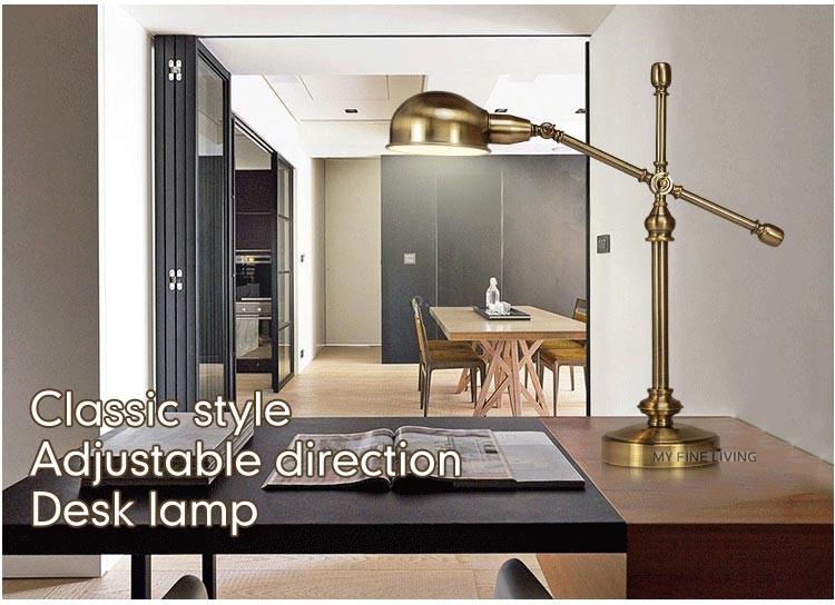 Camere Da Sogno Fine Living : Moderna lampada da tavolo classica camera da letto studio direzione