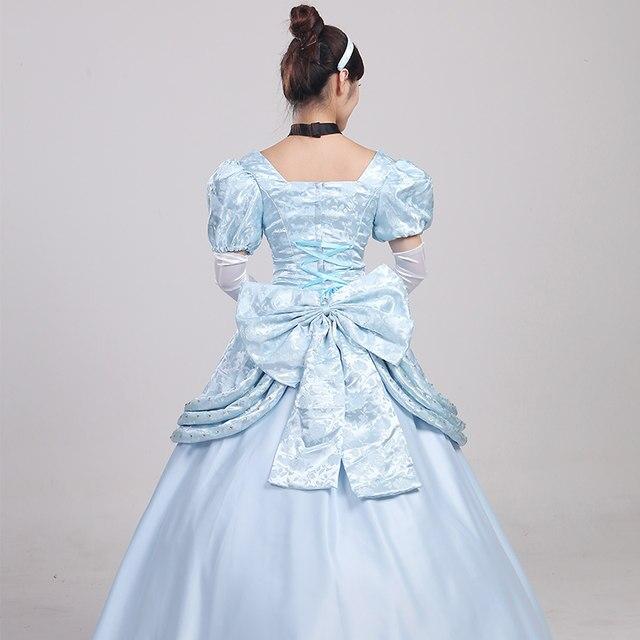 2016 newest costumes woman Gorgeous Cinderella fancy Cosplay dress adult Cinderella costumes Halloween (Dress+headband + gloves) & Online Shop 2016 newest costumes woman Gorgeous Cinderella fancy ...