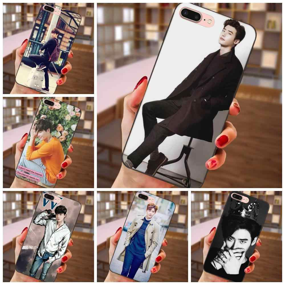 Lee Jong Suk TPU Cell Phone Case Cover For Huawei Honor 5A 6A 6C 7A 7C 7X 8A 8C 8X 9 10 P8 P9 P10 P20 P30 Mini Lite Plus