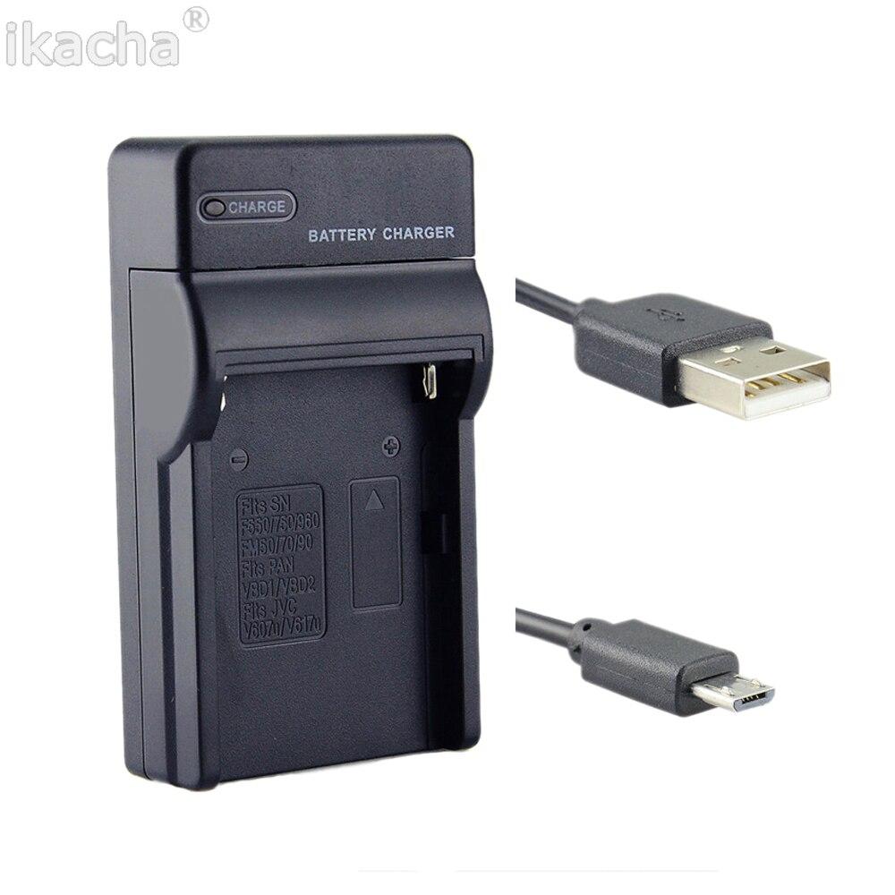 EN-EL9 EN-EL9A ENEL9A USB Caméra Batterie Chargeur pour Nikon D40X D40 D60 D5000 D3000 Caméra