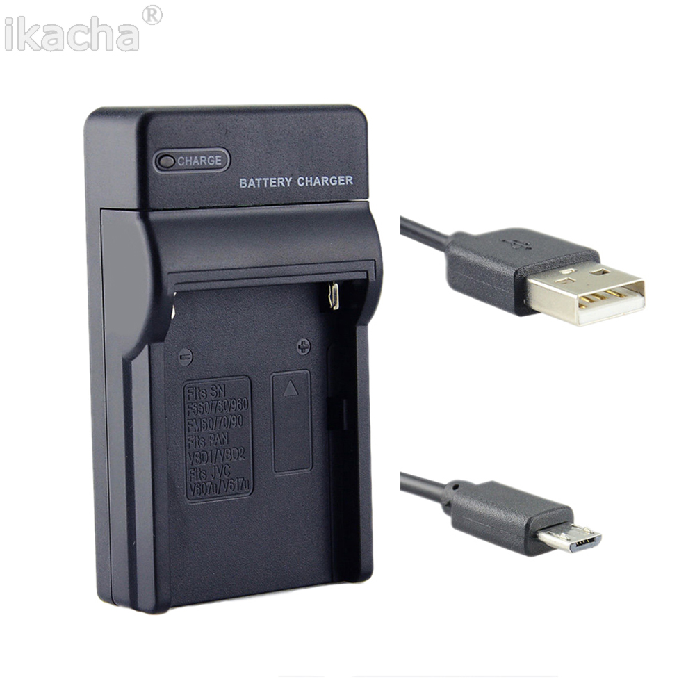 EN-EL9 EN-EL9A ENEL9A USB Camera <font><b>Battery</b></font> <font><b>Charger</b></font> for <font><b>Nikon</b></font> D40X D40 D60 D5000 <font><b>D3000</b></font> Camera image