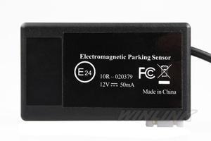 Image 4 - Hot Car Electromagnetic Parking Sensor No Holes\Easy install Parking Radar Bumper Guard Backup Reversing Parking System