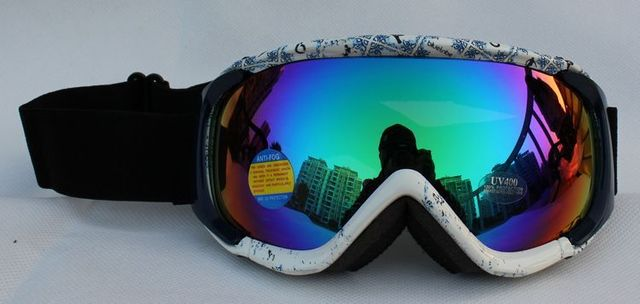 Free Shipping Double Lens Polarized Anti Fog Windproof Ski Goggles UV400  Europe brand  PC Snow GlassesColorful Men / Women