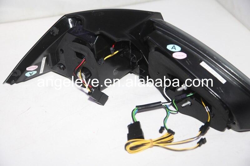 For Volkswagen Golf 7 Rear light LED Tail Lights 2013-2014 year Smoke Black SN