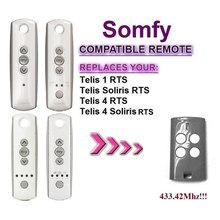 2018 новый для Somfy Telis 4 RTS, Somfy Telis 4 Soliris RTS Совместимость двери гаража дистанционное управление