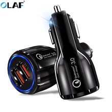 OLAF Car Charger Dual USB Ports 5V 3.1A Car-Charger Quick Ch