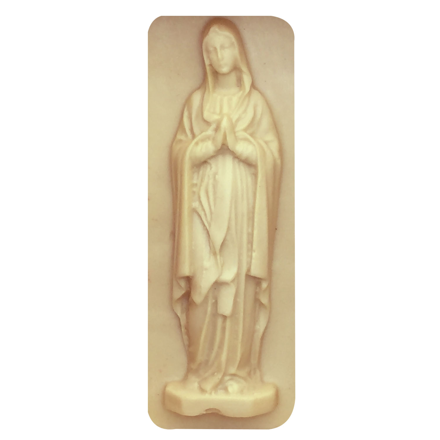 M0235 Silicone mould Virgin Mary 3D Mold Soap Moulds Fondant Cake Decorating Baking Tools in Cake Molds from Home Garden