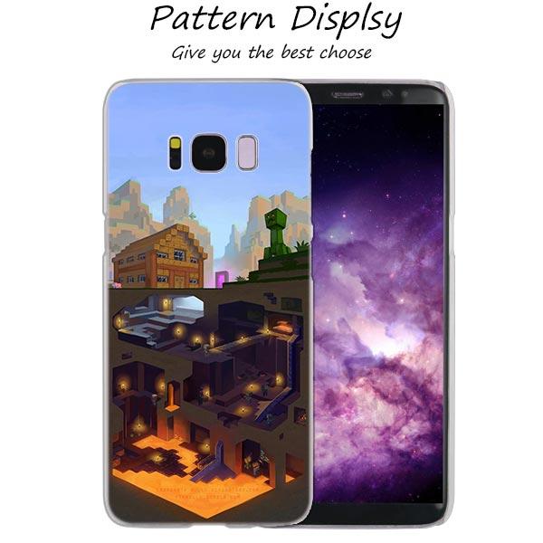 newest collection e12d9 5c99f Binfu Minecraft Funny Hot Fashion Transparent Case For Samsung Galaxy S4 S5  Mini S6 S7 Edge S8 S9 S10 Plus Lite Note 9 Cover