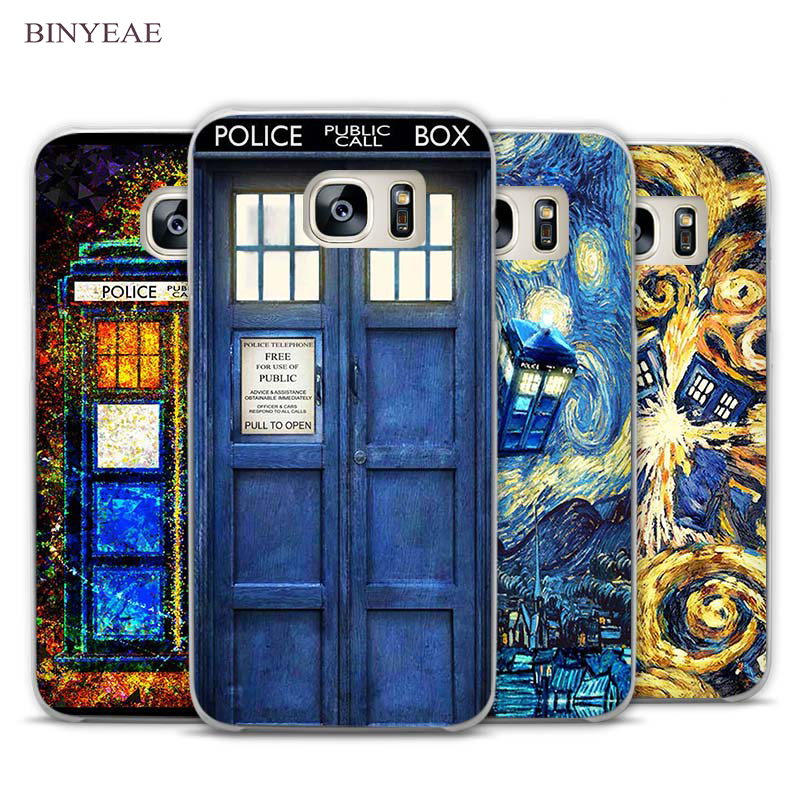 Cellphones & Telecommunications Hot Sale Binful Tardis Box Doctor Who Clear Case Cover Coque Shell For Samsung Galaxy S4 S5 Mini S6 S7 Edge S8 S9 Plus