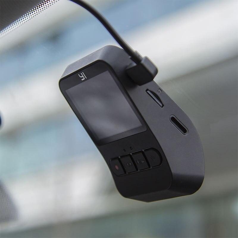 YI Mini Dash Cam 1080 p FHD Tableau de Bord Enregistreur Vidéo Wi-Fi Voiture Caméra avec 140 Degrés Objectif grand-angle nuit Vision G-Capteur - 4