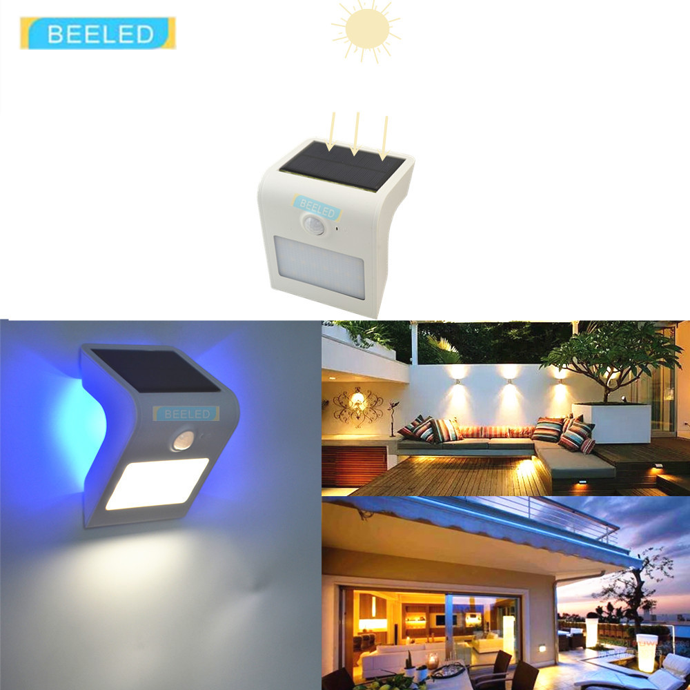SOLAR LIGHT OUTDOOR 24 LEDs Bright Motion Sensor Light Wide Angle Sun Powered Lighting Wireless Waterproof Security Lights