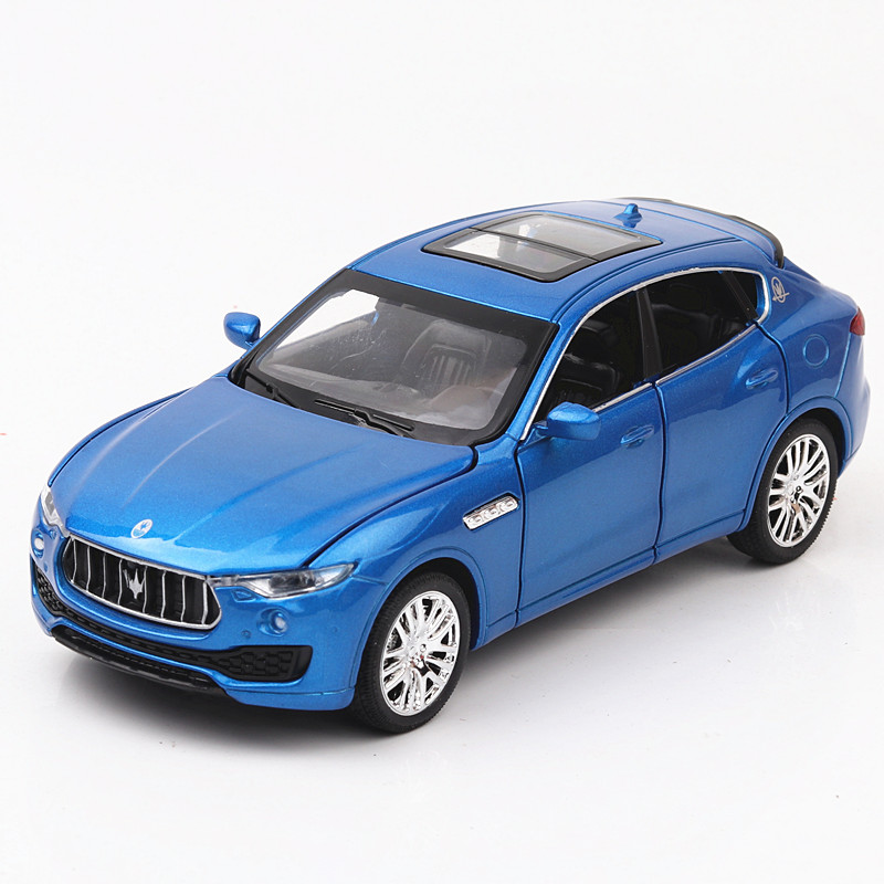 1:32 Toy Car Maserati SUV Metal Toy Alloy Car Diecasts & Toy Vehicles Car Model Miniature Scale Model Car Toys For Children