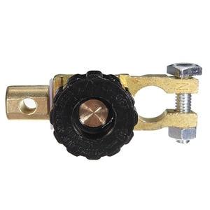 Image 5 - Auto Batterie Terminal Link Schnell Cut off Schalter Dreh Trennen Isolator Metall Schalter Auto Lkw Auto Fahrzeug Teile Zubehör