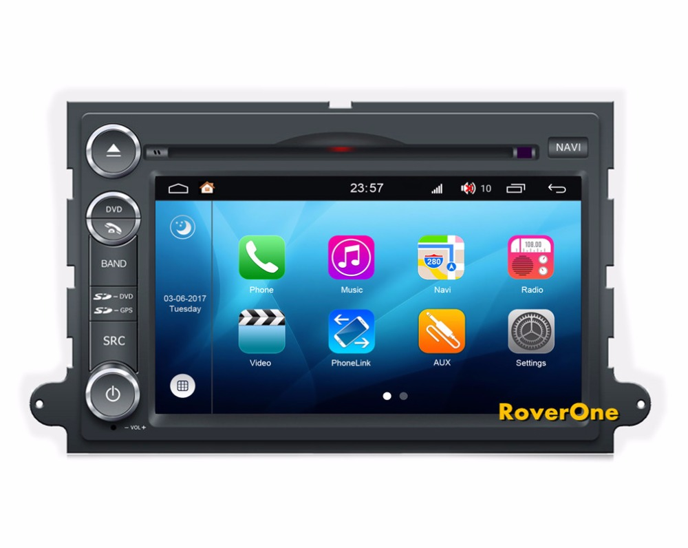 4gb Ram Android 80 Octa Core Car Gps Dvd Player For Ford F150 F350 2005 Bus Protocol Wirings Roverone Multimedia System Radio Navigation Fusion Explorer 500