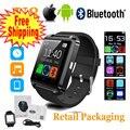 Preto Bluetooth Android Smart Mobile Telefone U8 Relógio de Pulso Relógios Para IOS iPhone Samsung LG Relógio Dos Homens Das Mulheres