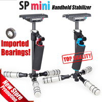 SP Mini Handheld Stabilizer Carbon Fiber Steadicam For DSLR Video Camera Light Steady Cam For