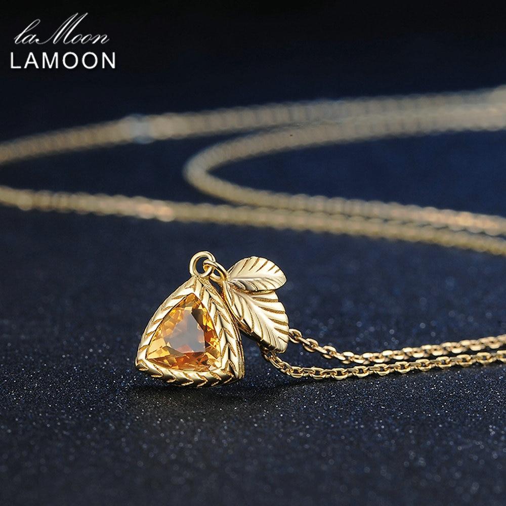 LAMOON ყელსაბამი 1.3ct 100% - ლამაზი სამკაულები - ფოტო 5