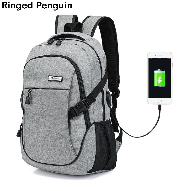 Women&Men USB Charge Anti Theft Canvas Backpacks Unisex Travel Security Casual School Bag College Teenage 15inch Laptop Backpack sopamey usb charge men anti theft travel backpack 16 inch laptop backpacks for male waterproof school backpacks bags wholesale