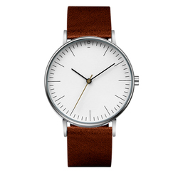 Chronos Men Watch 2018 New Design Fashion Quartz Watches Minimalist Leather Men's Wristwatch Religion Masculino