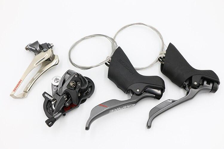 SENSAH EMPIRE 2*11 vitesse vélo de route manettes de vitesse vélo dérailleur groupe 11 s accessoires pièces pour shimano Sram vélo de route