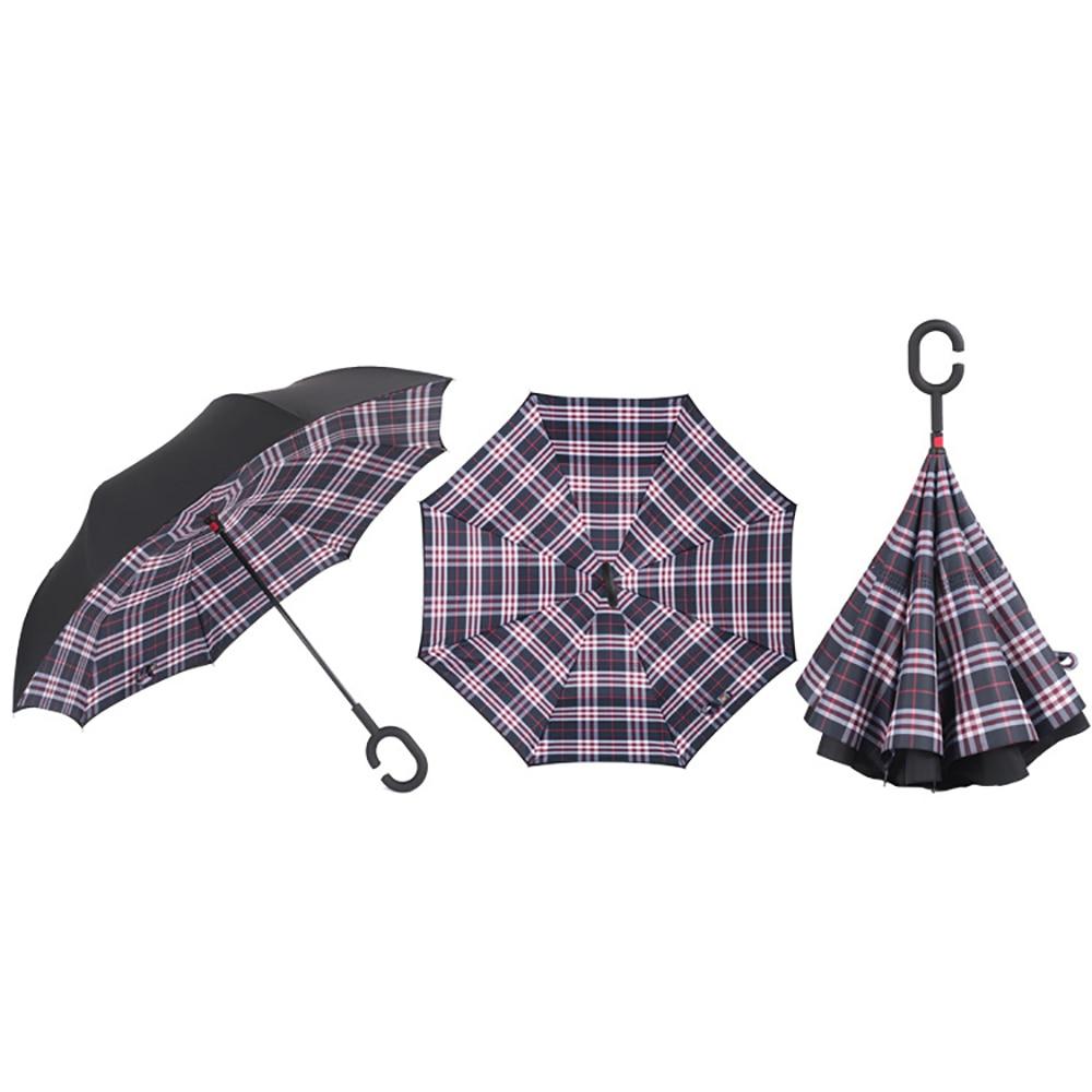 Silkclo New Windproof / Uv Protection Reverse Umbrella - Haushaltswaren - Foto 6