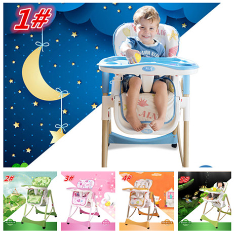 319023921c7d Hot Sale Portable Baby High Chair Adjustable Cheap Price European Standard Children  Eat Desk and Chair Dining Table 5 Colors-in Highchairs from Mother ...