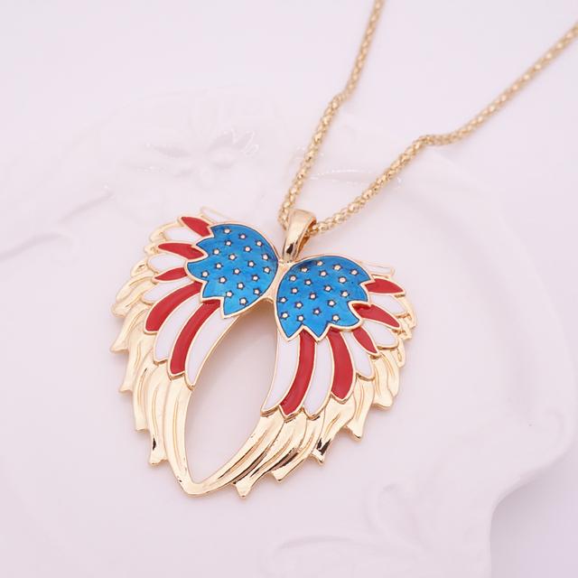 Cheap One Set Angel Wing Earrings Jewelry