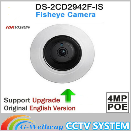 DHL free shipping Original international version DS-2CD2942F-IS 4MP IP CCTV Network Compact Fisheye Network Camera dhl free shipping 100% original autel maxidiag elite md802 all system ds model 4 in 1 engine transmission abs airbag