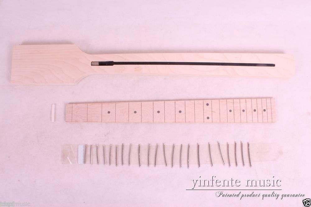 New Electric Guitar neck Solid wood Paddle Frerboard Low Price 22 fret #1 1pcs black guitar neck electric guitar neck solid wood 25 5 22 fret new 008