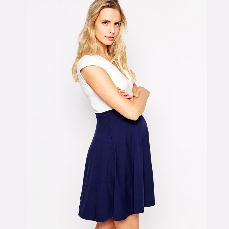 95 Tencel Summer Short Sleeve V Neck Plus Size Pregnancy Clothes