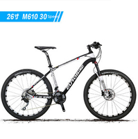 New Brand Carbon Fibre 27 30 Speed Oil Disc Brake Reversal Air Fork Mountain Bike Outdoor