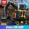 Lepin 20023 New Technical Ultimate Series The Ew160e excavator set Educational Building Blocks Bricks Boys Toys Gift Model 42053