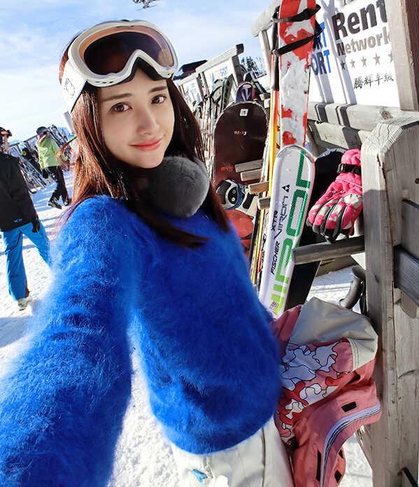 2019 yeni varış gerçek vizon kaşmir kazak sıcak kış lüks doğal kürk ceket ücretsiz kargo FP613