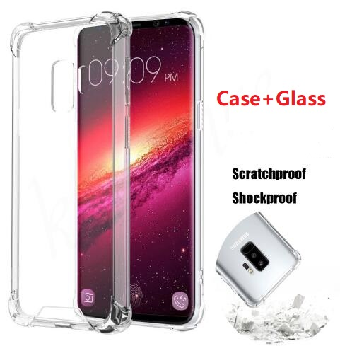 best website 3b920 92149 US $3.04 |For Xiaomi Pocophone F1 Case+Tempered Glass Transparent Soft TPU  Gel Skin Protection Shell Silicon Cover-in Phone Pouch from Cellphones & ...