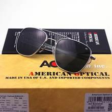 79ed215ad الطيران النظارات الشمسية الرجال العلامة التجارية مصمم عالية الجودة الطيار  الأمريكية الجيش العسكرية البصرية آو نظارات شمسية Oculo.
