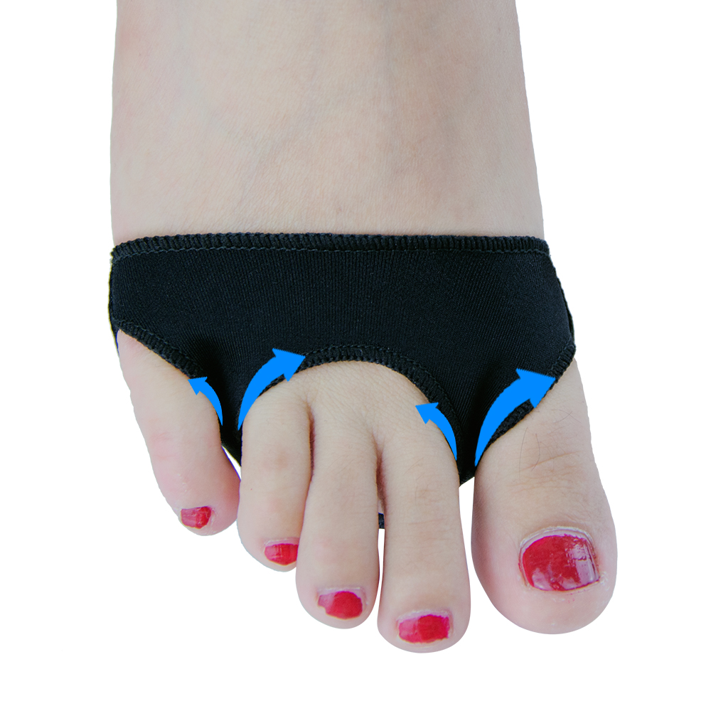 1 Pair Orthopedic Finger Pillows Shoes Insole Gel Shoulder Splitters Stretch Lap Alignment Fingers Orthopedics Hammer C1088