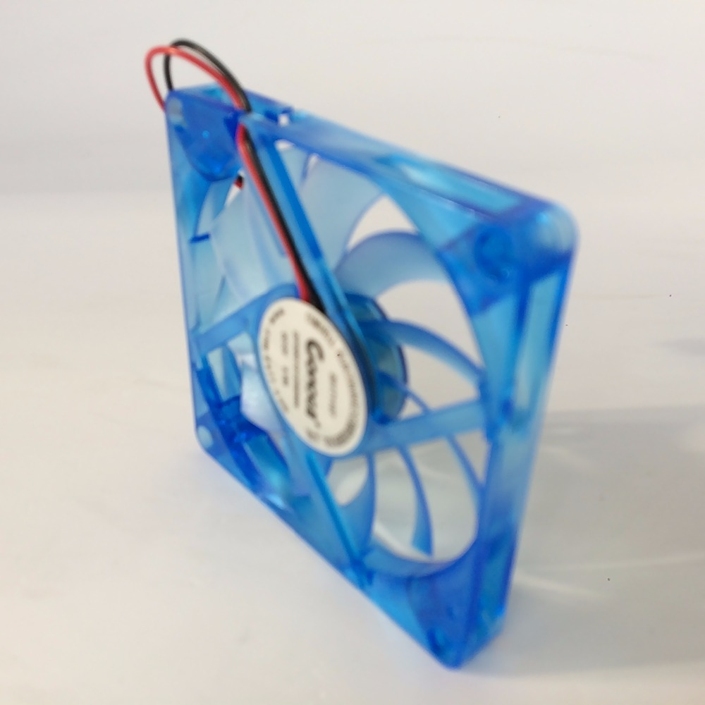 Image 3 - DIY 2 pcs/lot PC Computer Fan 80mm 8CM DC 12V Oil Bearing  Cooling Cooler 80mmx80mmx10mm-in Fans & Cooling from Computer & Office