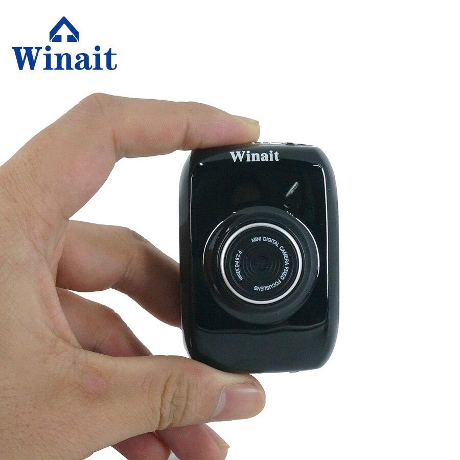 Winait Mini Sport Cam Helmet Action Camera Waterproof HD 720P 1.77 LCD Display