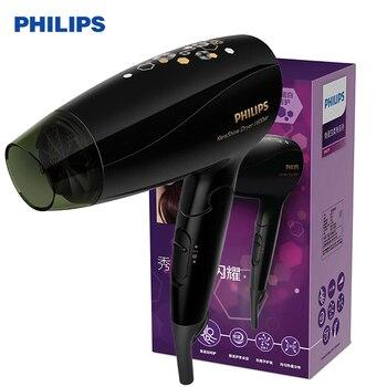 Secador de pelo plegable PHILIPS BHC111 tecnología profesional de SPA con aniones de alta potencia portátil para soplador de aire doméstico